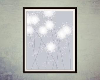 Printable Art, Digital Art, Wall Decor, Printable Print, Modern Art, Wall Art, Digital Print, Home Decor,  Make a Wish