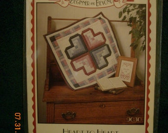 Heart to Heart quilt wallhanging pattern
