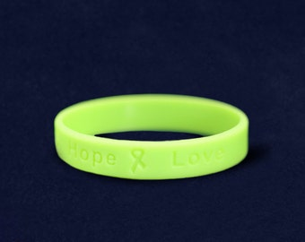 Lime Green Silicone Bracelet (RE-SILB-9)