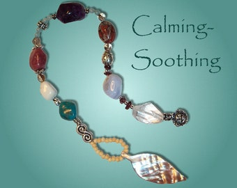 TouchStones - Calming, Soothing Meditation Beads, Prayer Beads