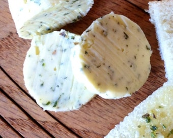Organic Butter All Natural Garlic Herb