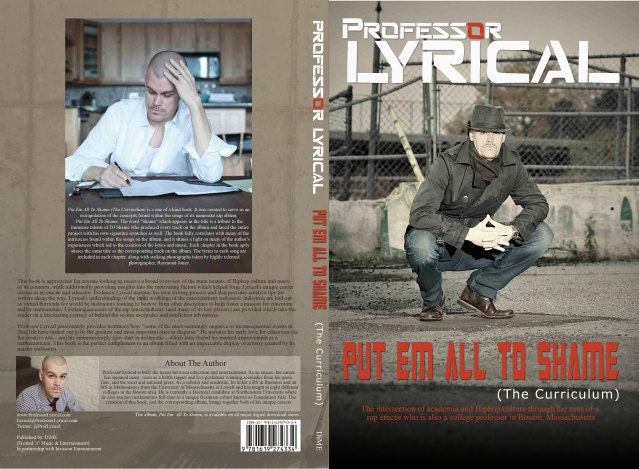 Albook-  A combo of: Put Em All To Shame [CD-6 panel digipack album] &  Put Em All To Shame (The Curriculum) [BOOK]