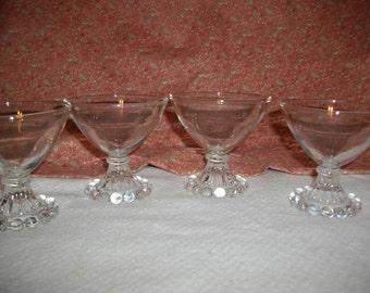 Vintage Bar Glasses/Dessert Dishes