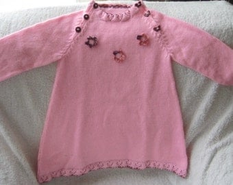 Pink Dress for the Little Lady (Price reduced from NZD85.00)