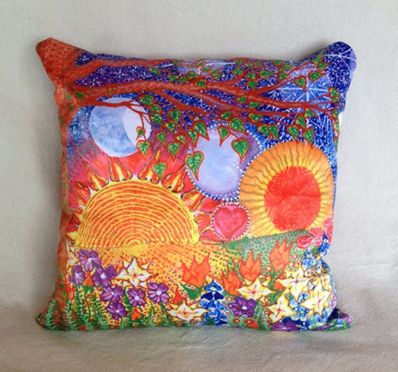 Cute Handmade Pillow Covers : SALE Stunning Handmade Pillow Cover Love by KymNicolasDesigns