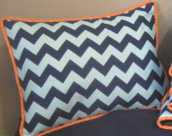 Custom Pillow With Piping / Design Your Own / Baby Bedding