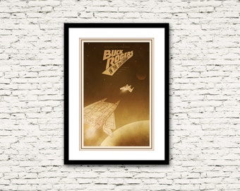 The Buck Rodgers in the 25th Century Poster 70's and 80's Sci Fi Collection Print 16x24
