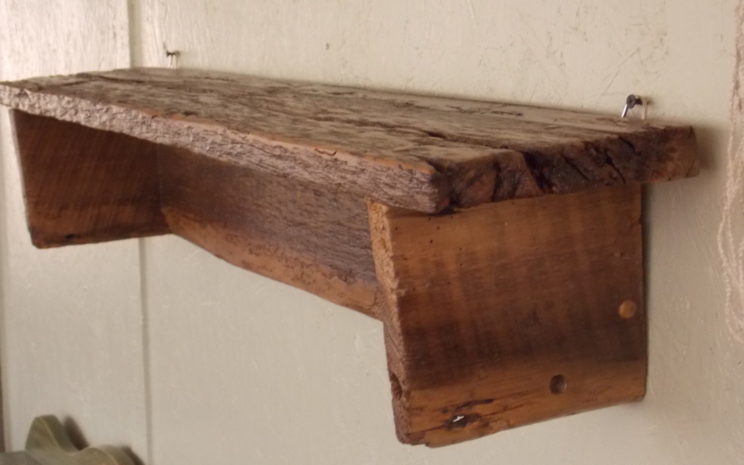 Amazing photo of Barn wood shelf by WoodenFury on Etsy with #452419 color and 1500x938 pixels