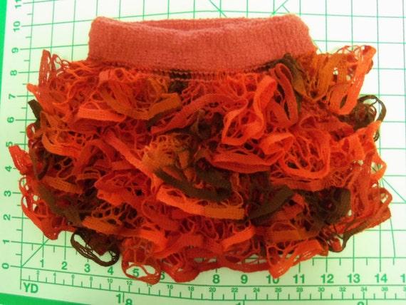 Baby or Toddler ruffled skirt using Starbella yarn