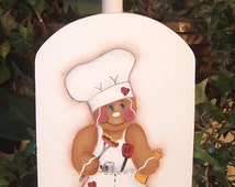Gingerbread  Paper towel Holder  Painting Pattern       instant download
