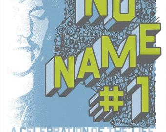 AUSTIN No Name #1 Elliott Smith silkscreened poster, limited-edition.