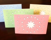 Star Note Cards, Colors