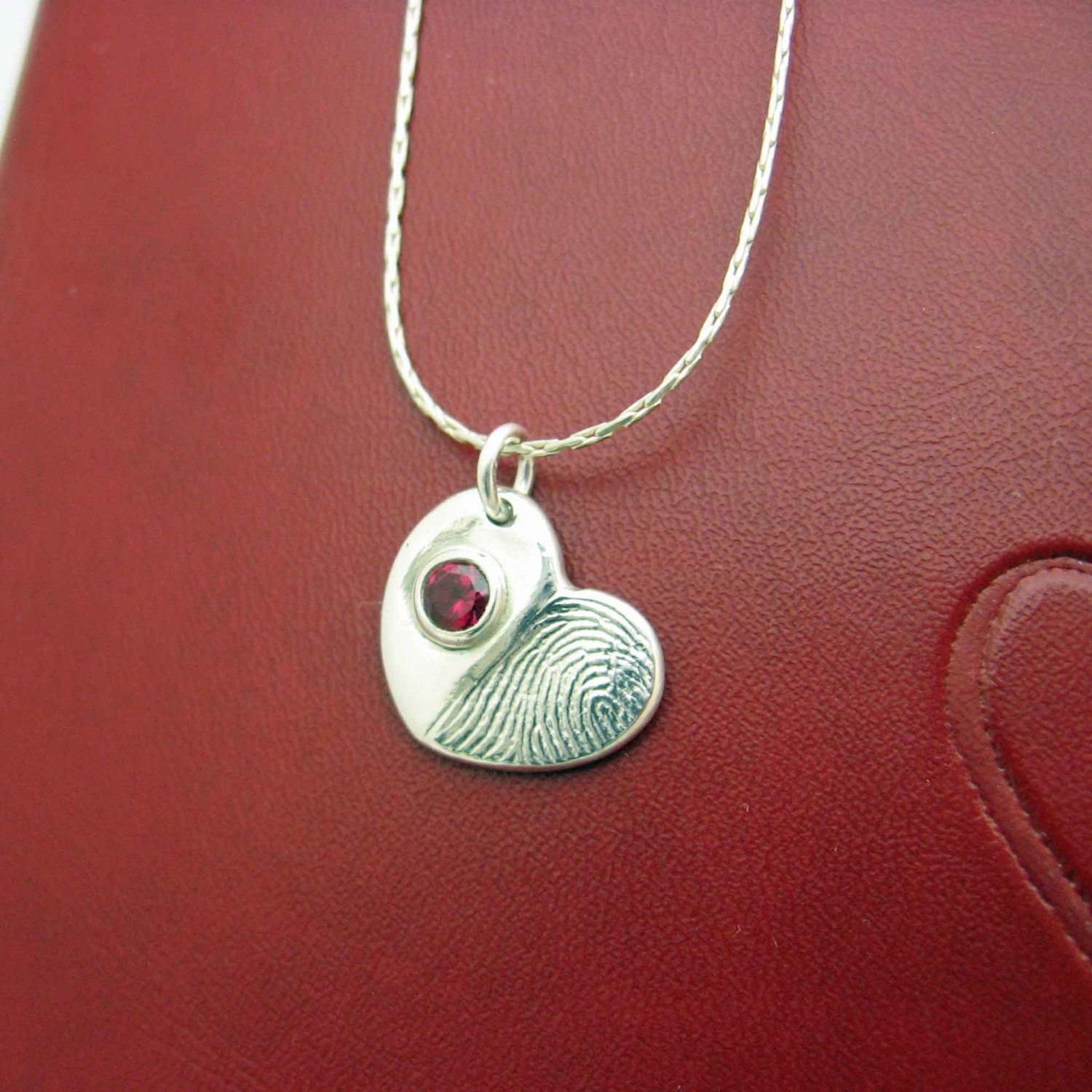 timeless touch fingerprint jewelry fingerprint jewelry silver necklace by 9242