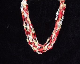 Sunshine Ladder Trellis Necklace