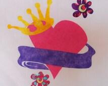 Princess Quilt Applique Pattern Design (easy)