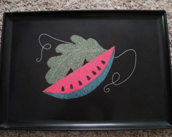 Couroc Watermelon Large Tray