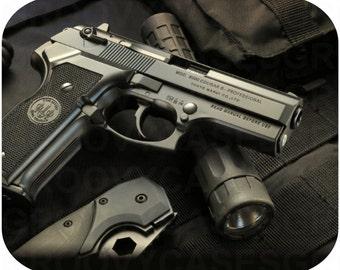 Mouse Pad Gun