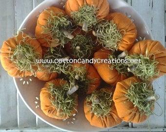 Fall Osenberg Pumpkins - Primitive Pumpkins - Handmade Fall Pumpkins - Halloween Pumpkins - Fall Bowl Filler - Fall Ornament