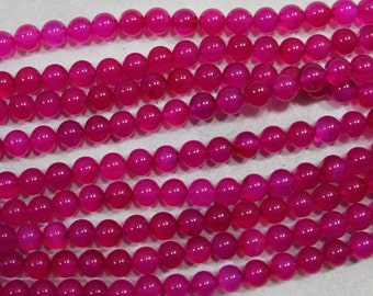 10mm Pink Agate Bead