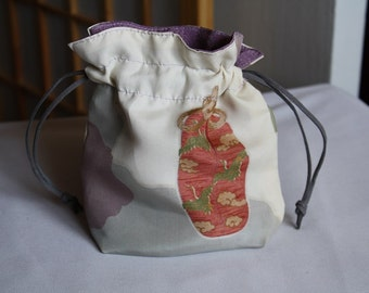 Japanese Silk Bag Tea Time