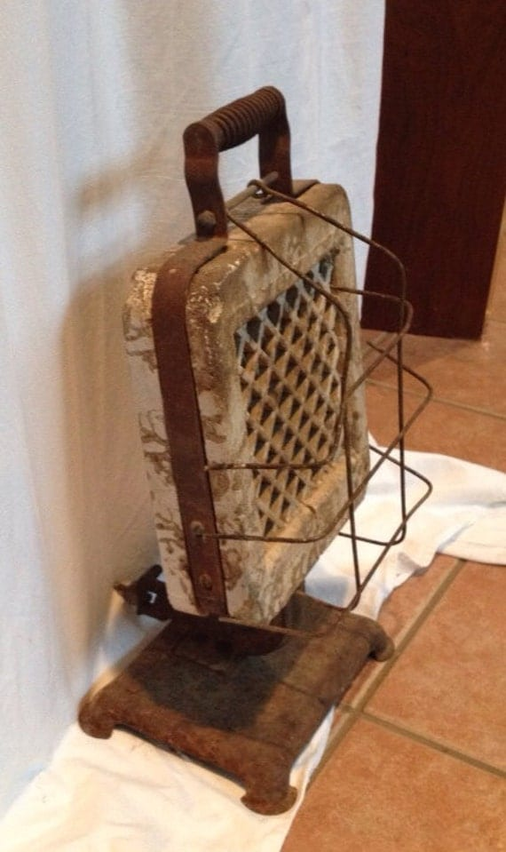 Early Pre-war  Radiant  Gas Heater PRICE & SHIPPING REDUCED
