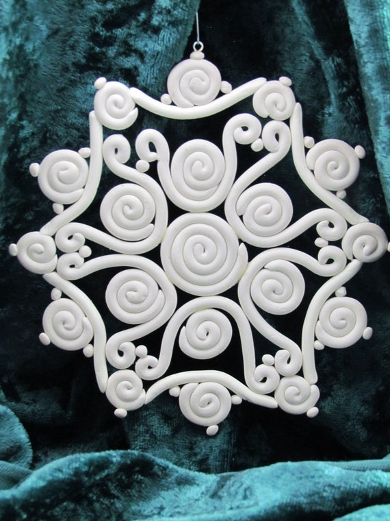 Extruder Snowflake Christmas Ornament