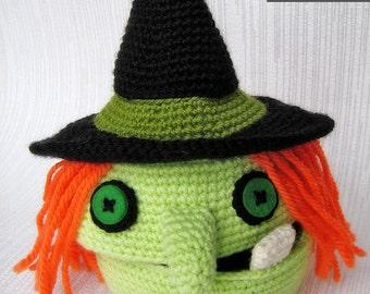 Halloween Witch Crochet Pattern | Halloween Crochet Tutorial | Box Crochet Pattern | Home Decor | Home Decorations | Bowl | Busket | DIY