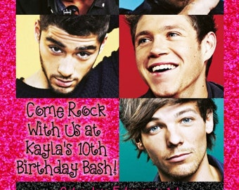 One Direction Invitation