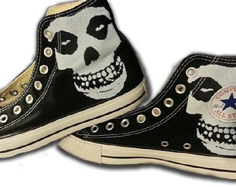The Misfits Custom Converse All Stars