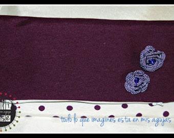 Purple dots Bag