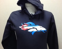 Bronco Colorado Flag Hooded Sweatshirt