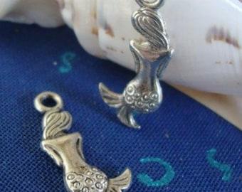 2 Mermaid Earring charms