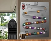 Nespresso Donkey Kong wall mount for Coffee Capsules