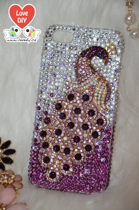 diy rhinestone phone case - photo #12