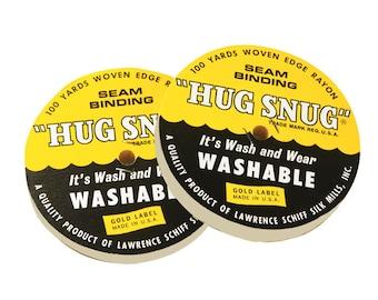 HS1NA - Hug Snug Seam Binding - Natural