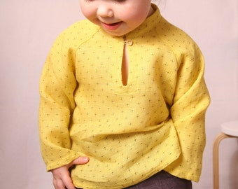 Natural linen shirt. White,pink,brown,grey,light blue, yellow