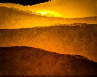 Paper Sunset