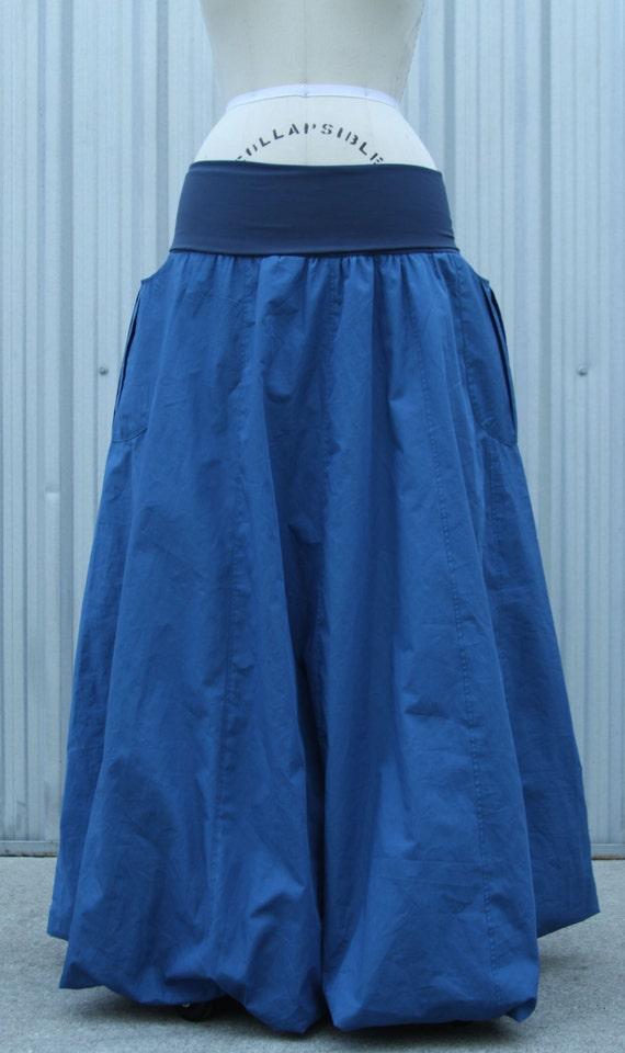 Long Bubble Skirt 77