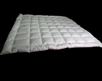 2 pieces 54 x 76 inch Handmade Hungarian Goose Down Comforter pack