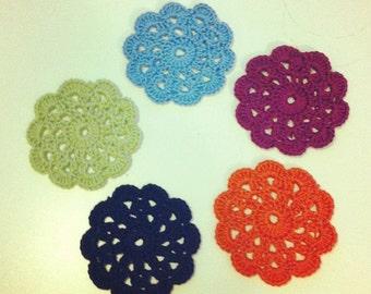 Handmade 100% cotton coasters