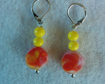 Cheerful Summery Drop Earrings