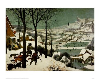 Breughel - The Return of the Hunters beautiful fine art print in choice of sizes