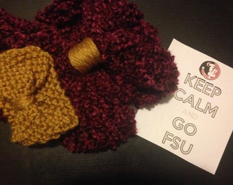 Let's Go! Scarf and Headband