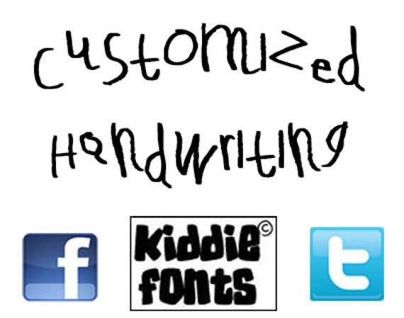 Customized Handwriting