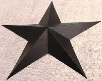 "24"" Large Metal Tin Barn Star - Wall Decor"