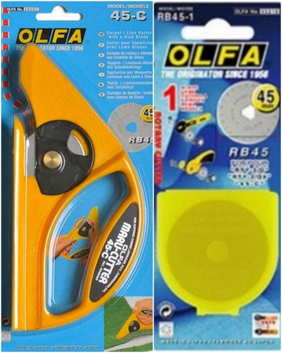 Carrelage Design tapis lino : Olfa ensemble 45C tapis Lino Cutter moquette coupe brosse pour sols ...