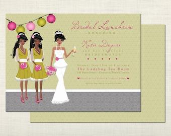 african american wedding invitations templates - African American Wedding Invitations