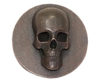 Skull Belt Buckle 3D Printed Accessories
