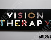 Vision Therapy Canvas Art