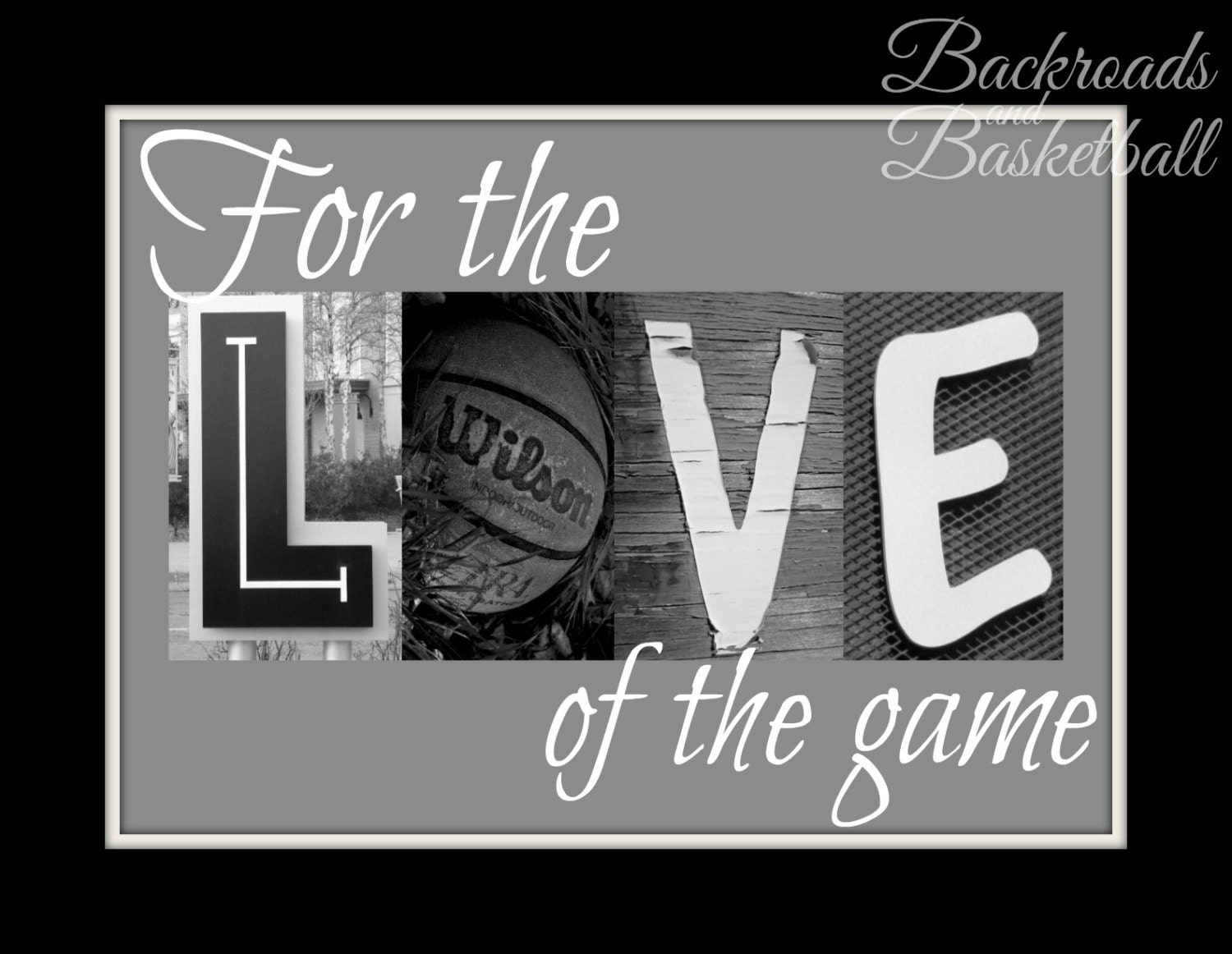 Kentucky Wildcats Wall Quotes Quotesgram: For The Love Of The Game Basketball Quote Fine Art Home Decor